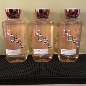 🎈🎈Set of 3 bath body works vanilla bean shower